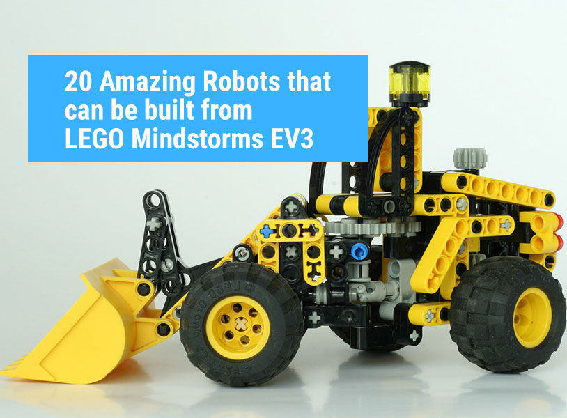 20 Amazing Robots that can be built from LEGO Mindstorms EV3