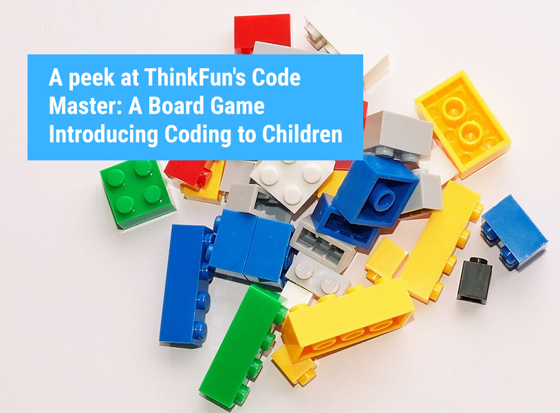 A peek at ThinkFun's Code Master: A Board Game Introducing Coding to Children
