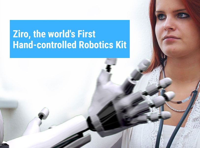Ziro, the world's First Hand-controlled Robotics Kit