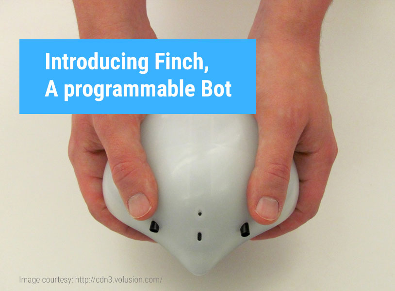 Introducing Finch, A programmable Bot
