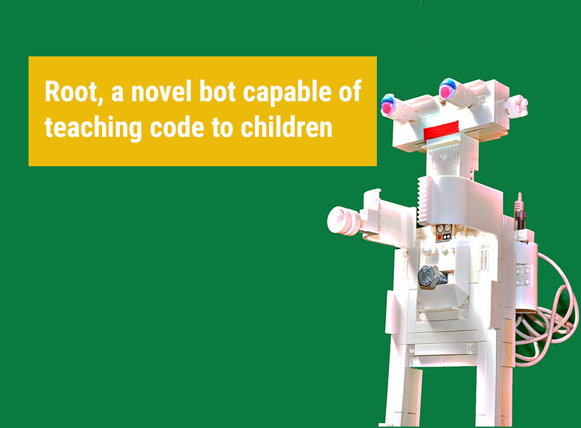 Root, a novel bot capable of teaching code to children