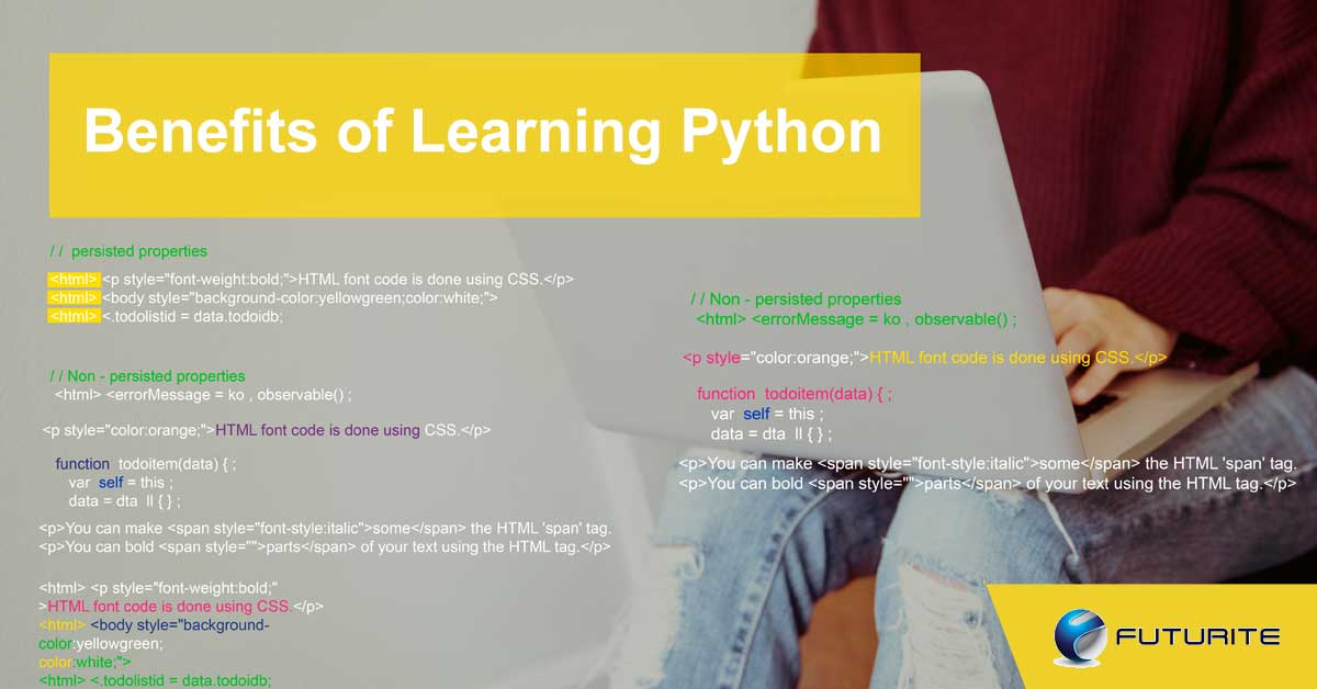 Benefits of Learning Python