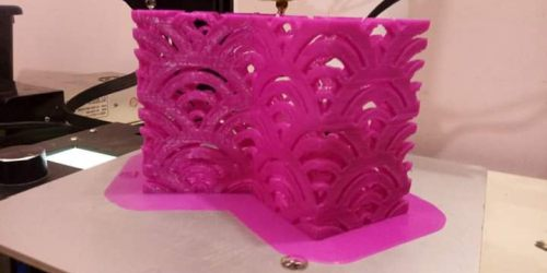 3D printing and designing course