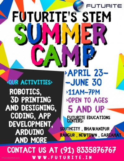 Special Summer Camp in Kolkata for Kids - 2019