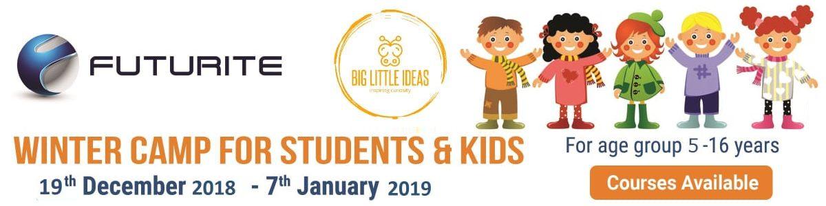 2018 Winter Camp for Kids -  Robotics and 3D Modelling & Design