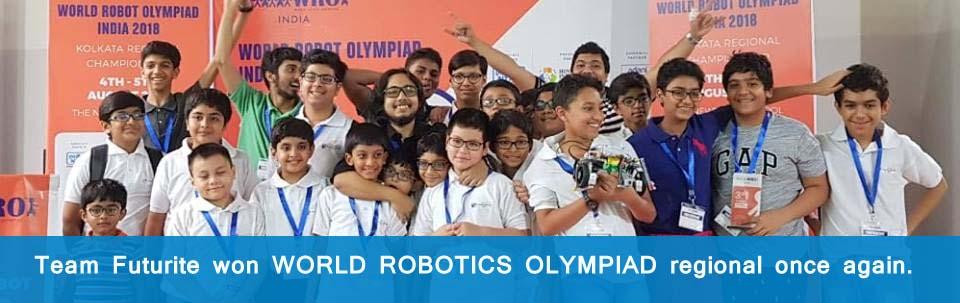 World Robot Olympaid India 2018 Winner Team