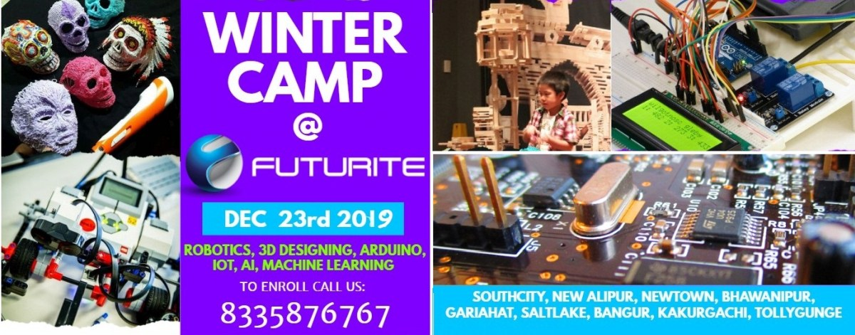 Summer Season Camp in Kolkata for Kids to learn Robotics course